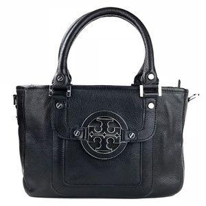 Tory Burch Amanda Mini Satchel Black Handbag
